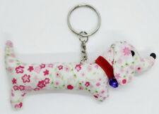 Fabric Doll Dog Cute Keyring Animal Lover Pattern Scotch Sewing Charm