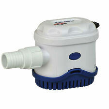 "Rule-Mate 750 GPH Automatic Bilge Pump 12V RM750A 3/4"" Discharge"