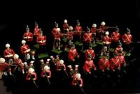 Vintage lead soldiers, Scottish Regiment, Britain's