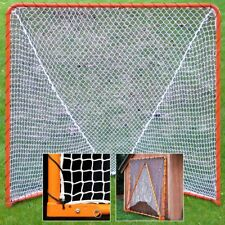 Lacrosse Folding Goal, 6 x 6-Feet, Orange