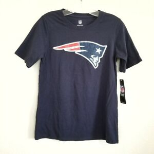 NWT Youth NFL New England Patriots Tom Brady T-Shirt Size M