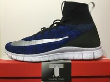 Nike Free Flyknit Mercurial FC ~ Racer Blue ~ 836126 041 ~ Uk Size 10.5