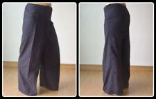 Thai Fisherman Yoga Meditation Maternity Bohemian Pants Long Black 100% COTTON