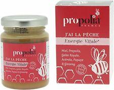 Energie Vitale Propolia Miel Propolis Gelée Royale Ginseng 120g Made in France