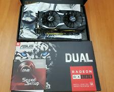 ASUS AMD Radeon RX580 4 GB PCI Express 3.0 Graphics Card (DUAL-RX580-O4G ROG)