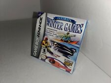 New Mint Ultimate Winter Games for GameBoy Advance Snowboarding Skiing Bobsled