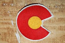 """Colorado Rockies 3 7/8"""" Patch Vintage NHL 1976-1982 Alternate Logo Hockey"""