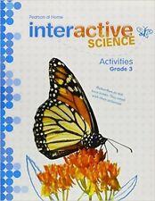 Grade 3 Interactive Science Activities Workbook 3rd Pearson Homeschool