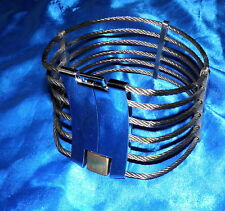Metall Seil Halscorsage Halskorsett Domina Collier Bondage-Schmuck Collier