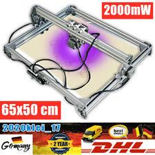 65x50cm DIY CNC Laser Graviermaschine Gravurmaschine 2000mW Laserfräsmaschine CE