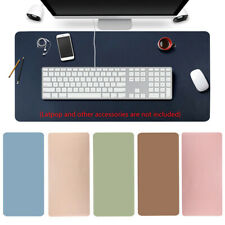 Game Home Office Laptop Cushion Computer Desk Mat Leather Keyboard Mouse Pad