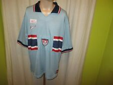 USA US SOCCER TEAM Nr.1165 Nike Auswärts Weltmeisterschaft Trikot 1998 Gr.XL Neu