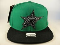Dallas Stars NHL Reebok Snapback Hat Cap Green Black