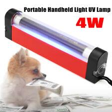 4W Lampada Portatile di Wood UV Luce Per Cura pelle / Rilevatore Banconote False
