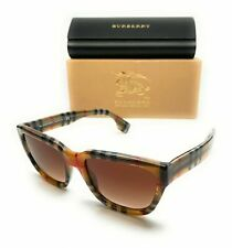 Burberry BE4277 377813 Vintage Check Women's Square Authentic Sunglasses 54-19