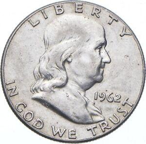 1962 Franklin Half Dollar - TC *335
