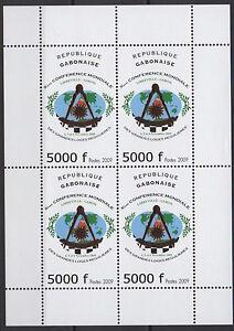 Gabon 2009 Mi. 1696 Grandes Loges régulières franc-maçons Freimaurer freemasonry