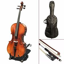 Paititi CE4009SE AVANT-GARDE Ebony Fitted Gloss Finish Solid Wood Cello 3/4 Size