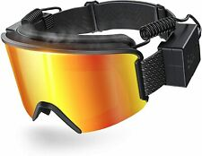 Sable Ski Goggles with Heated Graphene Anti-Fog Lens Charged Snow Sport Goggles