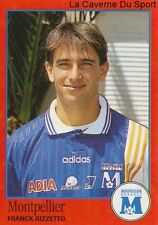 N°207 FRANCK RIZZETTO # FRANCE MONTPELLIER HERAULT.SC STICKER FOOT 97 PANINI