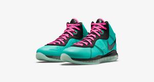 Nike LeBron VIII 8 South Beach 2021 Retro CZ0328-400 Men's 10.5 IN HAND