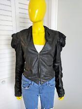 RACHEL Rachel Roy 100% Genuine Leather Jacket Size M Retail $195!