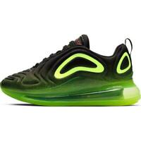 Nike Youth Shoes Air Max 720 Black Hyper Crimson Volt AQ3196-005 Size 4.5Y