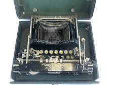 SMITH CORONA Antique 1917 Folding Typewriter with Case