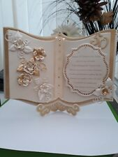 Boxed large A4 personalised wedding,anniversary,birthday any occasion card