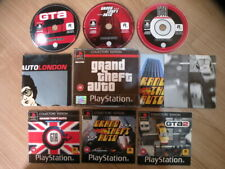 Sony Playstation 1 GRAND THEFT AUTO COLLECTOR'S EDITION Complete FREE Shipping