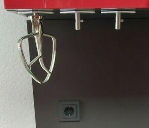 Kompatibel für KitchenAid Rührer 3.Stück Halter für Rührwerkzeuge Metall Neu