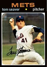 TOM SEAVER 71 ACEO ART CARD ## BUY 5 GET 1 FREE # or 30% OFF 12 OR MORE