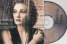 CD CARTONNE CARDSLEEVE PATRICIA KAAS IL ME DIT QUE JE SUIS BELLE 2T (GOLDMAN)