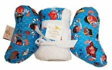 Baby Elephant Ears Head Support Pillow & Matching Blanket Gift Set~ Red Beard