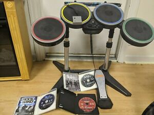 Rock Band Wireless Drums Bundle For Ps3