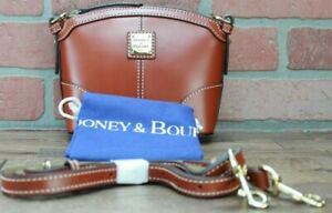 Dooney and Bourke; Mini Crossbody; Selleria Florentine Leather; British Tan