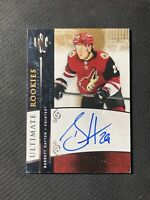 2019-20 UPPER DECK ULTIMATE BARRETT HAYTON '09-10 RETRO ROOKIE AUTO #ed 23/125