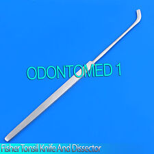"""Fisher Tonsil Knife and Dissector 8.5"""", sharp tip Tonsil Instrument"""
