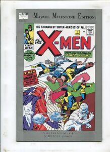 MARVEL MILESTONE EDITION: X-MEN #1 - WHITE LOGO - (9.0) 1991