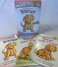Lot Of 3 I Can Read My First Reading Biscuit Books Kindergarten Preschool