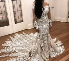 Nektaria Custom Wedding Dress And Veil - Size 8 to 10