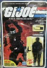 G.I. Joe: A Real American Hero #215 Action Figure Variant Signed Robert Atkins