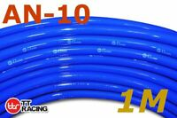 "AN-10 5/8"" 16mm Push On Loc Lock Fuel Hose for Lubricants, Oils - 1 Metre (Blue)"