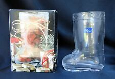 Studio Nova Glass Christmas Candyholder Candy BOOTS Wx017/512 USA Ship