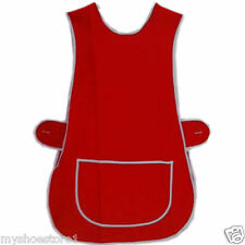 NEW LADIES TABARD TABBARD APRON WITH POCKET PLUS SIZE BIG KITCHEN CLEANING CHEF
