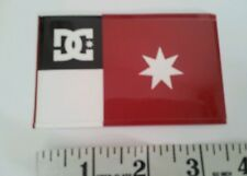 Dc flag logo sticker DC SHOES