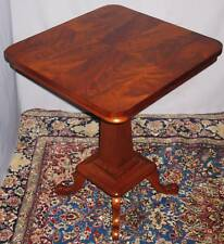 ANTIQUE VICTORIAN MAHOGANY PARLOR LAMP TABLE 1880-1900