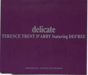 TERENCE TRENT D'ARBY - rare CD Maxi - UK - Promo