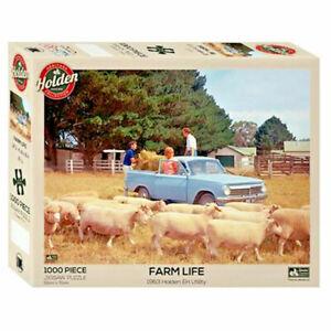HOLDEN EH UTILITY Farm Life 1000 Pieces Jigsaw Puzzle 50 x 70cm