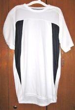 New Boy's Champion White Duo Dry Ventilation Stretch Short Sleeve Shirt Size XL